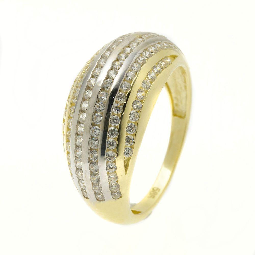 14K Arany Gyűrű (Au51107) Méret: 51