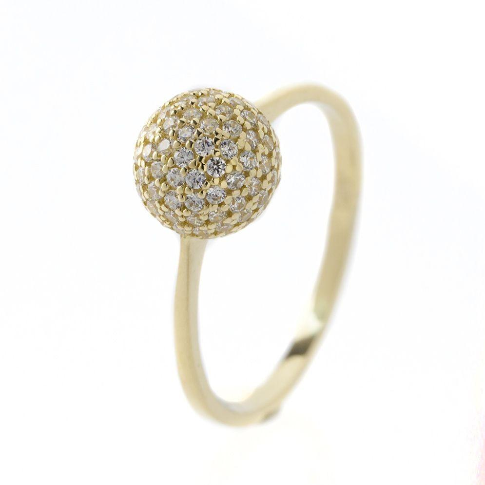 14K Arany Gyűrű (Au51926) Méret: 55