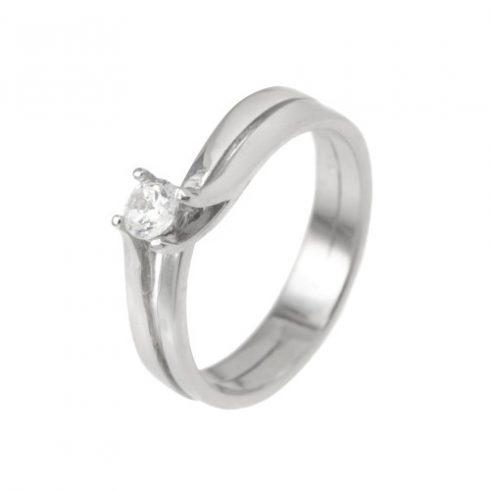 Amarillisz modell - 14K arany Gyűrű (Au391001) - méret: 55