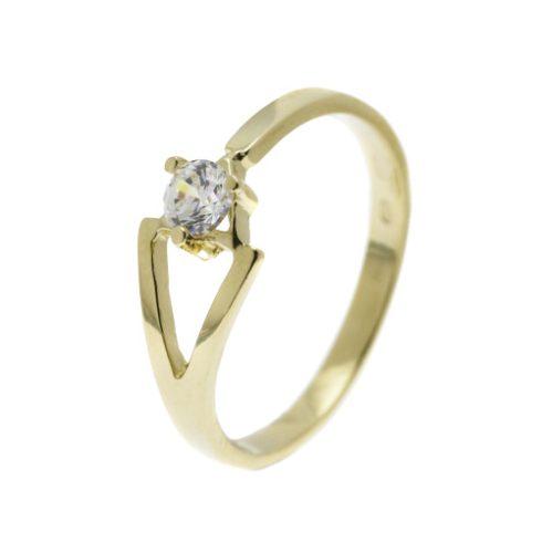 Harangvirág modell - 14K arany Gyűrű (Au57670) - méret: 55,5