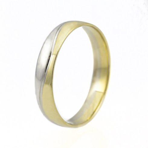Jégvarázs modell - 14K arany Karikagyűrű (Au50346) - méret: 56