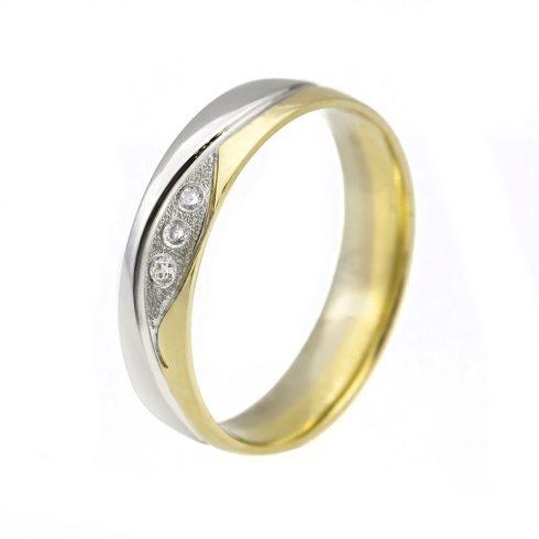 Jégvarázs modell - 14K arany Karikagyűrű (Au56819) - méret: 52