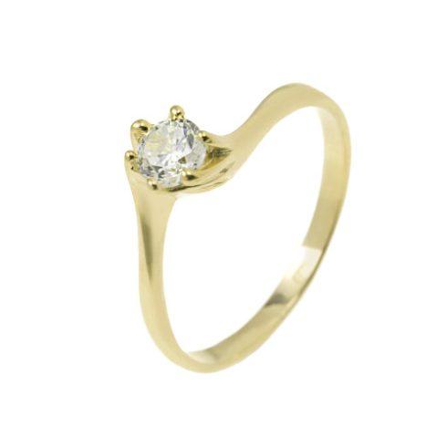 Szerelemvirág modell - 9K arany Gyűrű (Au56964) - méret: 51