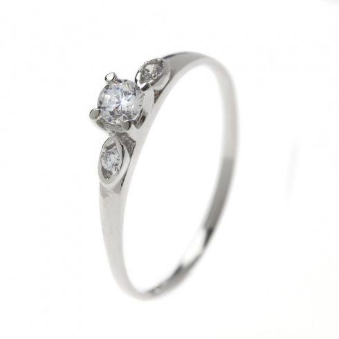 Fátyolvirág modell - 14K arany Gyűrű (Au391010) - méret: 52