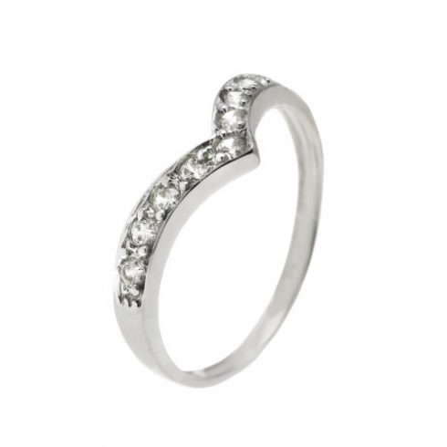Lótuszvirág modell - 9K arany Gyűrű (Au57176) - méret: 50