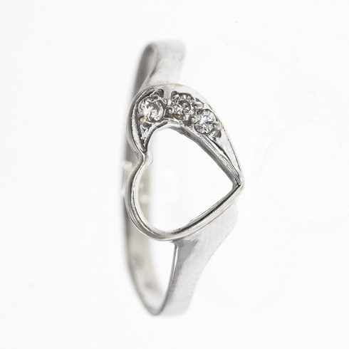 Valentin modell - 14K arany Gyűrű (Au58821) - méret: 53