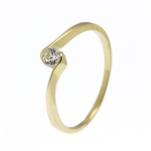 Csillagvirág modell - 14K arany Gyűrű (Au57694) - méret: 51