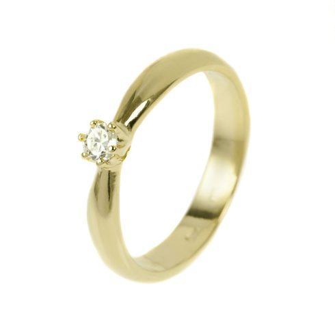Százszorszép modell - 9K arany Gyűrű (Au37994) - méret: 49