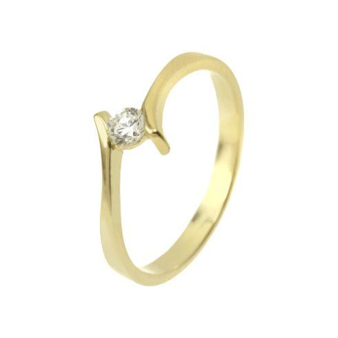 Csillagfürt modell - 9K arany Gyűrű (Au58431) - méret: 48