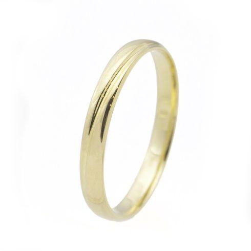 Varázslatos Szépség modell - 9K arany Karikagyűrű (Au528006) - méret: 72