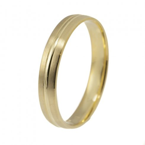 Tökéletes Harmónia modell - 9K arany Karikagyűrű (Au528016) - méret: 67