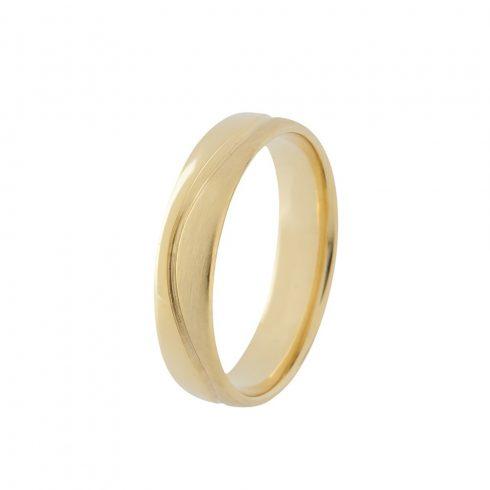 Arany Ébredés modell - 9K arany Karikagyűrű (Au60599) - méret: 60