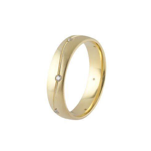 Arany Ébredés modell - 9K arany Karikagyűrű (Au60986) - méret: 46