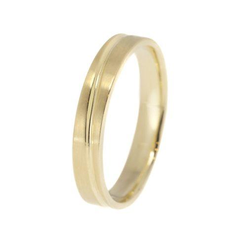 Végtelen Szerelem modell - 9K arany Karikagyűrű (Au60902) - méret: 52