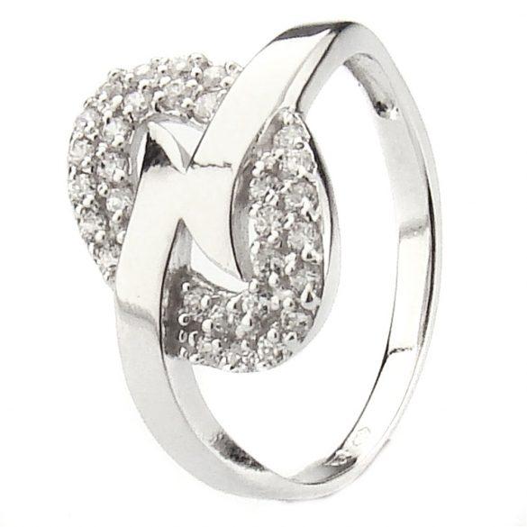 9K Arany Gyűrű (Au17974) Méret: 51