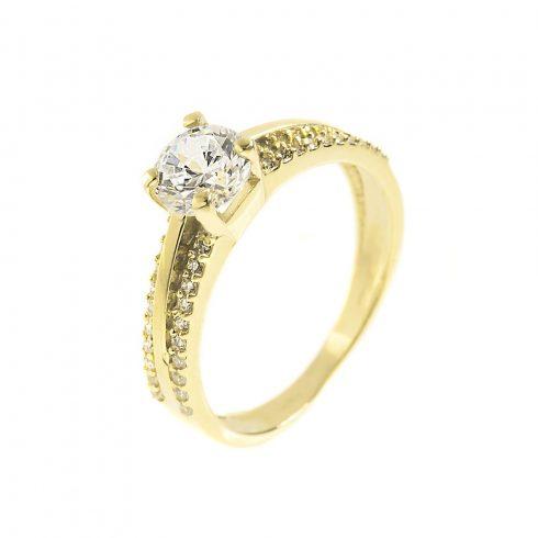 14K Arany Gyűrű (Au321004) Méret: 54