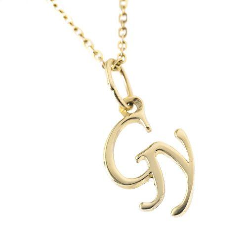 Arany Gy-betűs medál (Au36829)