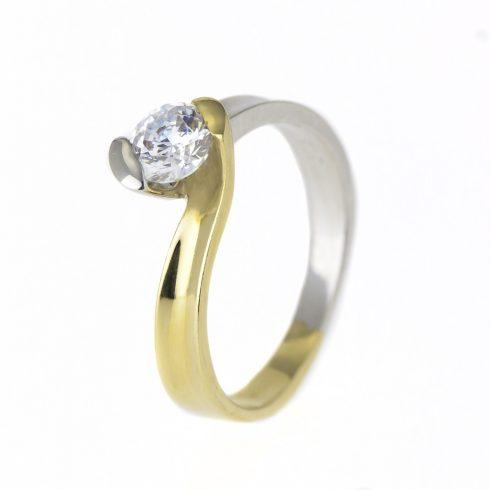 14K Arany Gyűrű (Au376008) Méret: 54