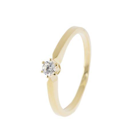 14K Arany Gyűrű (Au385003) Méret: 50