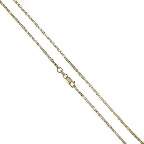 Arany Nyaklánc (Au389014) Méret: 51 cm