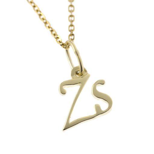 Arany Zs-betűs medál (Au392074)