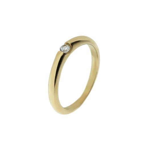 Arany Gyűrű (Au407036) Méret: 53