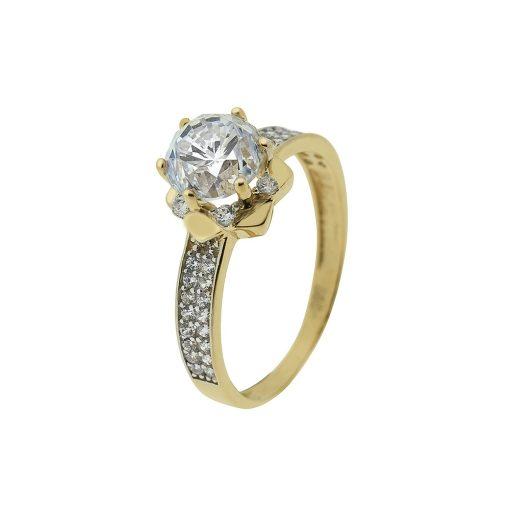 Arany Gyűrű (Au407042) Méret: 54