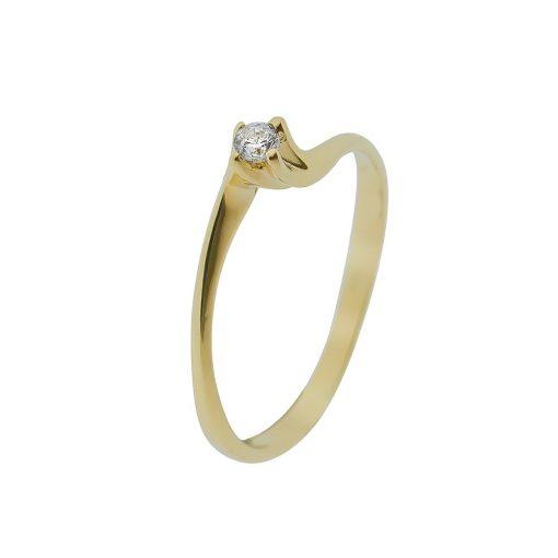 Arany Gyűrű (Au407044) Méret: 53