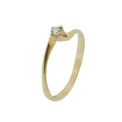 Arany Gyűrű (Au407045) Méret: 53