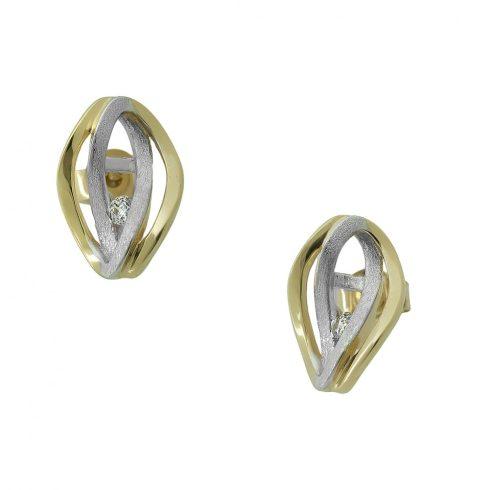 Arany Fülbevaló (Au409021) méret nélküli
