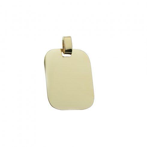 14K Arany Medál (Au422037)