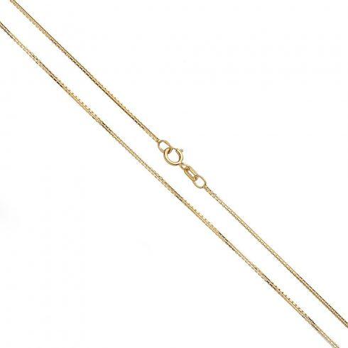 14K Arany Nyaklánc (Au426075) Méret: 50 cm