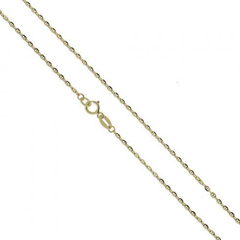14K Arany Nyaklánc (Au426115) Méret: 55 cm