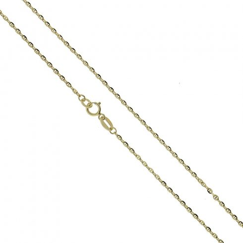 14K Arany Nyaklánc (Au426117) Méret: 55 cm