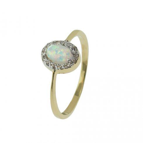 14K Arany Gyűrű (Au426143) Méret: 53