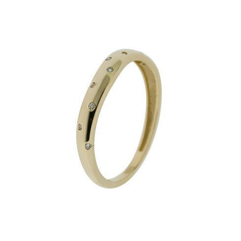14K Arany Gyűrű (Au426147) Méret: 57