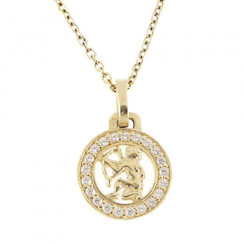14K Arany Medál (Au432039) Horoszkóp: Nyilas