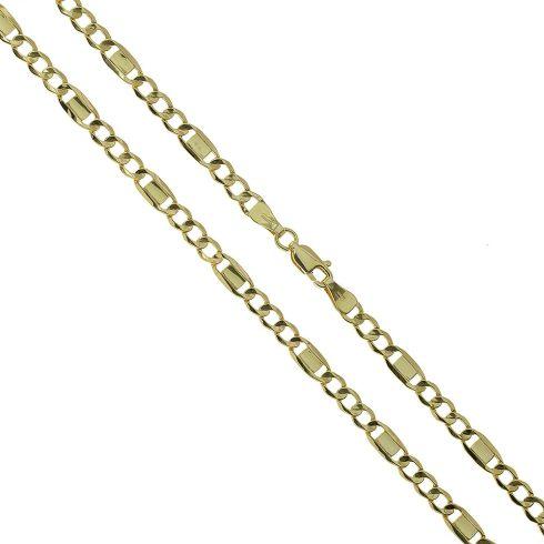 14K Arany Nyaklánc (Au434020) Méret: 55 cm