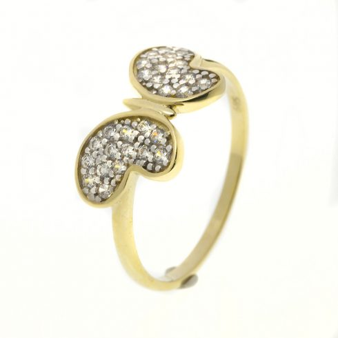 14K Arany Gyűrű (Au443001) Méret: 54