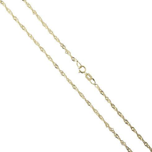 14K Arany Nyaklánc (Au460013) Méret: 45 cm