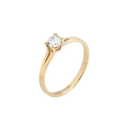 14K Arany Gyűrű (Au484010) Méret: 52