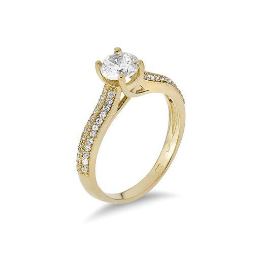 Arany Gyűrű (Au485001) Méret: 54