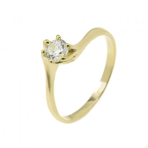 9K Arany Gyűrű (Au49487) Méret: 61