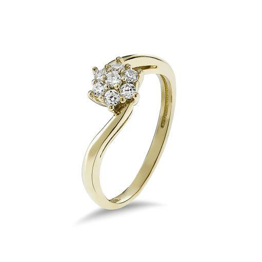 Arany Gyűrű (Au495001) Méret: 54