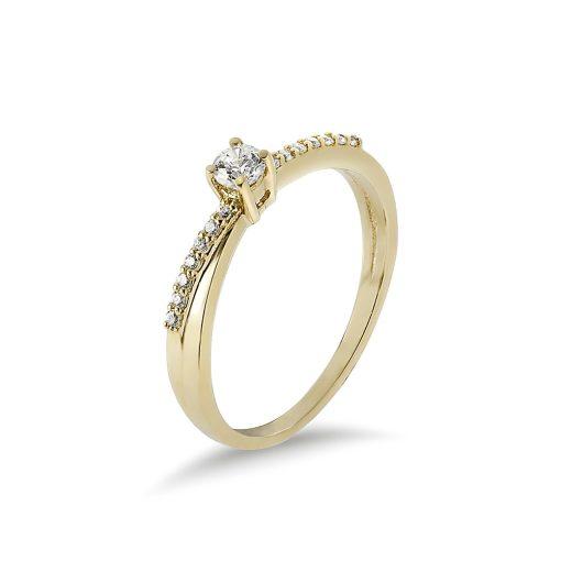 Arany Gyűrű (Au495002) Méret: 54