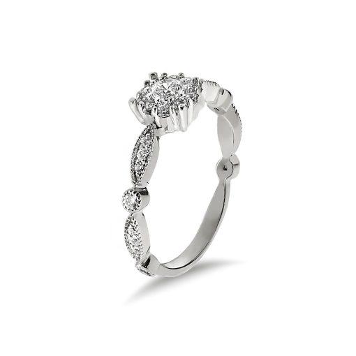 Arany Gyűrű (Au495006) Méret: 54