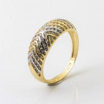 14K Arany Gyűrű (Au49567) Méret: 52