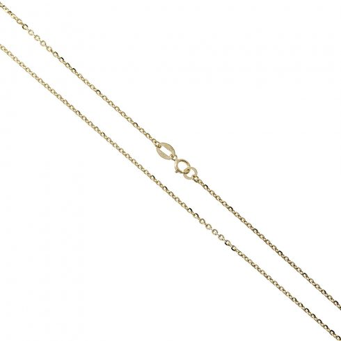 14K Arany Nyaklánc (Au503005) Méret: 45 cm