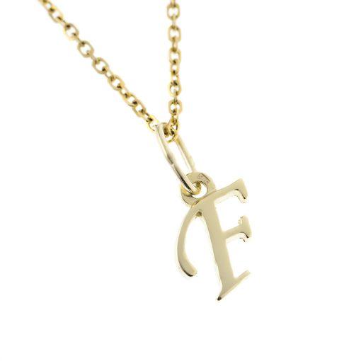 Arany F-betűs medál (Au505012)