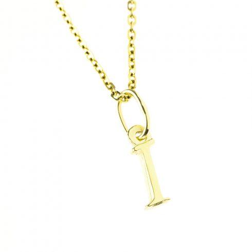 14K Arany I-betűs medál (Au512014)